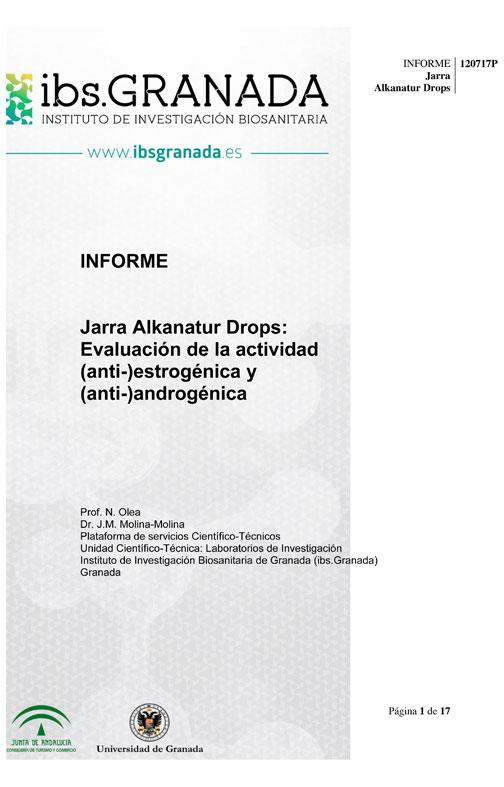 Evaluación IBS Granada Jarra Alkanatur