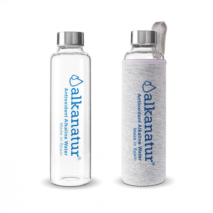 Botellas para agua de Borosilicato