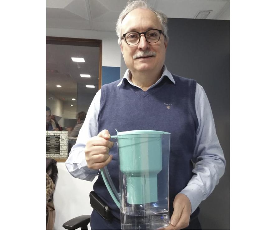Dr Domingo Pérez León habla del agua alcalina Alkanatur